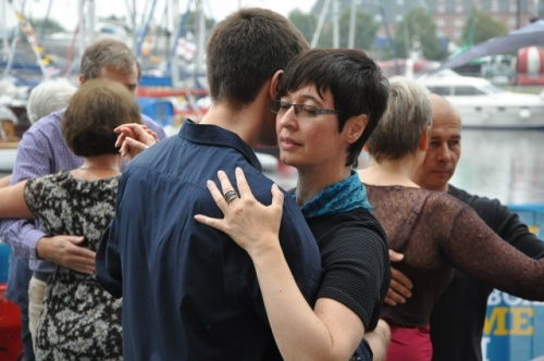 Dancing at the Ipswich Maritime Festival